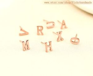 LETTER STUDS